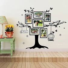 office wall stickers. Walplus 150x100 Cm Wall Stickers Birdcage Photo Frame Removable Self-Adhesive Mural Art Decals Vinyl Home Decoration DIY Living Bedroom Office Décor E