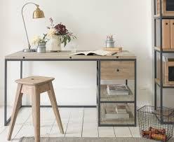 Wood desks for home office Furniture Den Desk Loaf Solid Wood Study Desk Den Loaf
