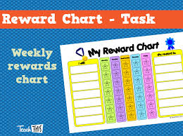 Teacher Reward Chart Reward Chart Task Teacher Resources And Classroom Games