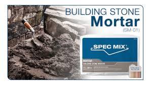 Spec Mix Building Stone Mortar