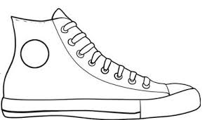 converse shoes clipart. pin converse clipart black and white #1 shoes y