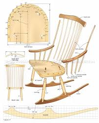 Wooden Rocking Chair Plans Rocking Chair Plans Wooden I Nongzico