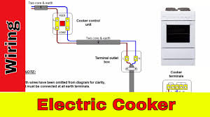 how to wire an electric cooker uk youtube Electric Oven Wiring how to wire an electric cooker uk electric oven wiring diagram