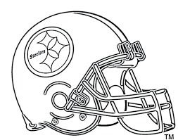 coloring pages for s football helmet printable nfl