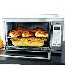 oster countertop convection oven cooking times extra large stainless steel black silver