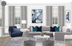 Create Living Room Designs Online Modern Living Room Design By Havenly Interior Designer Karen