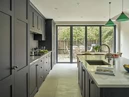 modern kitchen cabinets in brooklyn ny elegant contemporary open plan dark kitchen with bespoke cabinets hand