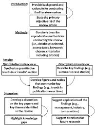 Literature Review Outline Example Sample Apa Scientific