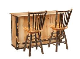 log rustic furniture amish. Amish Rustic Cabin Hickory Bar Log Furniture