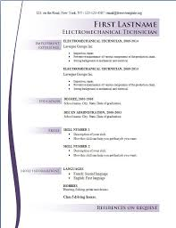 Resume Templates For Free Online Commily Com