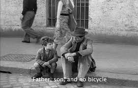 norman holland on vittorio de sica s bicycle thieves father son and no bicycle