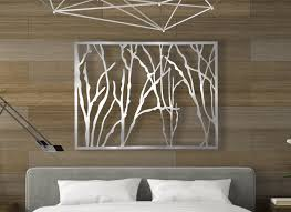how to hang metal wall art panels