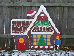 images of lawn decorations gingerbread house outdoor