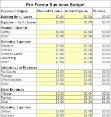 Budget Form Delectable Business Monthly Budget Template New Free Sample It Department