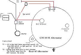 chevy alternator wiring diagram elektronik us chevy 350 alternator wiring diagram chevy alternator wiring diagram splendid bright one wire chevrolet brilliant 70634 large440