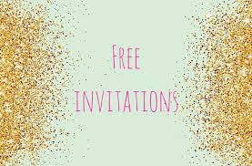 Photo Party Invitations Free Printable Childrens Birthday Party Invitations