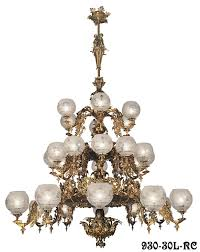 this large victorian rococo chandelier is our newest neo rococo creation from the mid victorian gasolier era early american rococo gas lighting fixtures