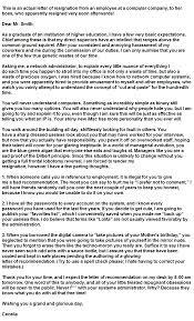 The Best Resignation Letter Ever Written. Her Boss Stepped Down ...