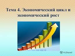 Презентация на тему Тема Экономический цикл и экономический  Экономический цикл и экономический рост