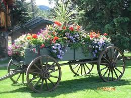 decorative garden wagon planter decorative garden carts wagons overflowing farm wagon beautiful wagons in the garden decorative garden wagon