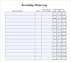 excel call log sample phone log template phone log template download free