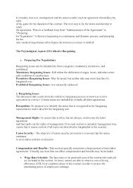Collective Bargaining Agreement Template Amazing Labor Contract Template Labor Agreement Template 44 Contract Labor