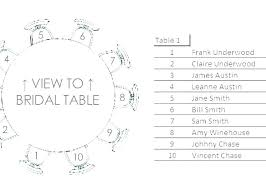 Round Table Template Round Table Seating Chart About Chart