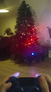 Christmas Snake Lights Engineer Shares A Video Of Christmas Tree Lights Turned Into