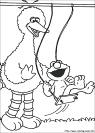 Sesame Street Coloring Pages For Toddlers Baby Bear Monextelco