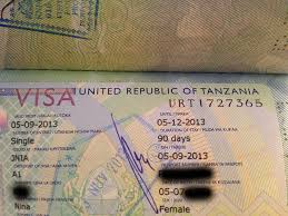tanzania passport visa free countries