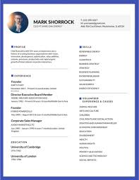 Editable Resume Template Magnificent 48 Most Professional Editable Resume Templates For Jobseekers Best