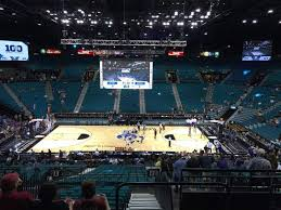 mgm grand garden arena section 213 row e seat 3 washington huskies vs stanford cardinals shared by cheddafreak
