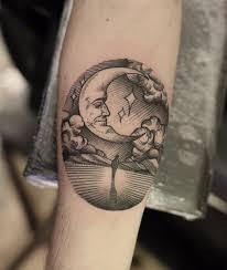 Pin Uživatele Klára Mocová Na Nástěnce Všehochuť Tattoos Moon