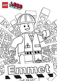 The Lego Movie Free Printables Coloring