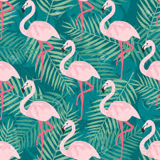 Flamingo Pattern Unique Tropical Trrendy Seamless Pattern With Pink Flamingotropical