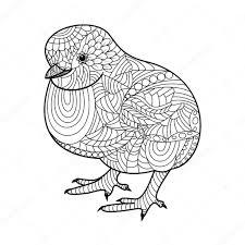 Kippen En Kuikens Kleurplaten