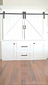 barn door media center. Sliding Barn Door White Entertainment Center Unit - Family And The Lake House Www. Media