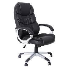 SONGMICS Chaise de Bureau confortable Fauteuil de bureau Chaise pour ...