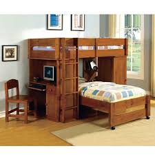 wood bunk bed with desk underneath design desk ideas check more at