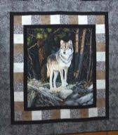 Quilting Supplies & Fabric for Sale Online | Patches and Petals & ... Realtree - Wolf Quilt Kit Adamdwight.com