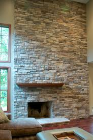 mountain stack ledge stone veneer with mortar