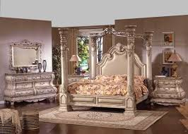 More Bedroom Furniture The New Opera Traditional Four Post White Wash Wood King And Queen