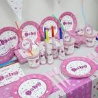 Baby girl party decorations