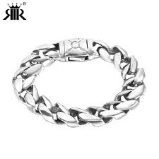2019 rir minimalist heavy mens bracelet silver stainless steel viking big chain bracelet cool men jewelry gifts for him from maocai 11 53 dhgate
