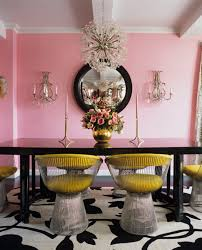 Image Navy Blue Pink Yellow Interior The Tao Of Dana Pink Yellow Home Decor Feng Shui Color The Tao Of Dana