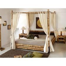 Bamboo bed Misool Canopy 180x200 - Bambuskeskus OÜ