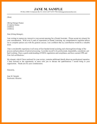 10 Example Of Simple Cover Letter For Resume Letmenatalya