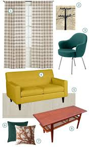 retro look furniture. mid century retro modern look furniture