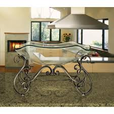 Decorative Bowls For Coffee Tables Decorative Bowl And Metal Stand In Wrought Iron100 The Home Depot 79