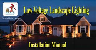 landscape lighting tips and garden lights low voltage w p law Led Low Voltlage Landscape Fixtures Wiring Diagram landscape lighting tips and garden lights low voltage w p law , inc sc